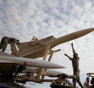 الجيش الايراني وتل ابيب