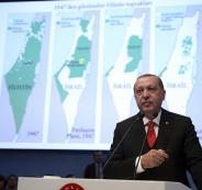 الرئسة التركية وفلسطين