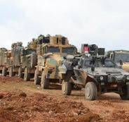 الجيش التركي في عفرين السورية