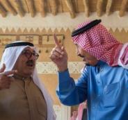 العاهل السعودي ووزير الدفاع الكويتي