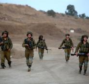 الجيش الاسرائيلي على حدود لبنان