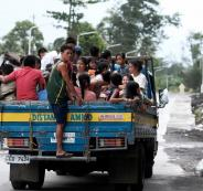 اعصار قوي يضرب الفلبين