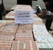 ضبط مخدرات في غزة