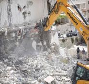 الجرافات الاسرائيلية تهدم في اللد