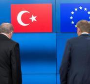 انضمام تركيا الى الاتحاد الاوروبي