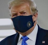 ترامب وارتداء الكمامة