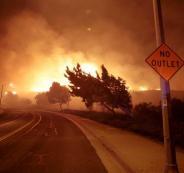 حرائق في ولاية كاليفورنيا