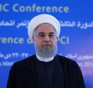 الرئيس الايراني وفلسطين