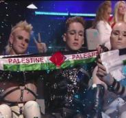 شركة الطيران الإسرائيلي تعاقب الفريق الايسلندي بعد رفعه العلم الفلسطيني