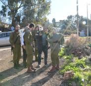 معركة بين الجيش الاسرائيلي والشرطة امام بيت ايل
