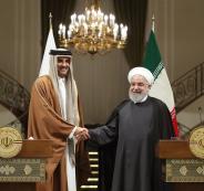 امير قطر وروحاني
