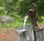 المستوطنون يسرقون بئر ماء في نابلس