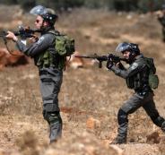 اصابة شبان برصاص الاحتلال غرب رام الله