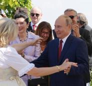 بوتين ووزيرة الخارجية النمساوية