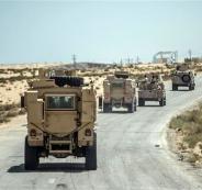 هجوم على القوات المصرية في سيناء