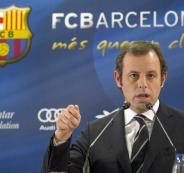 رئيس برشلونة السابق