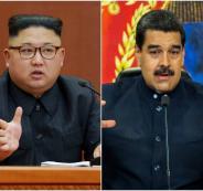 فنزويلا وكوريا الشمالية