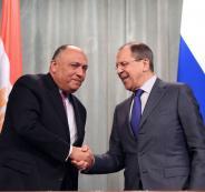 مصر  وروسيا واحياء عملية المفاوضات