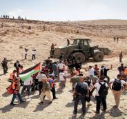 الاحتلال يقمع مسيرة في الاغوار