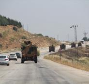 الجزائر والجيش التركي في سوريا
