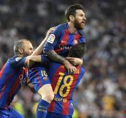 ميسي امام ريال مدريد