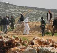المستوطنون في حومش