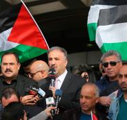 وقفة تضامنية مع تلفزيون فلسطين
