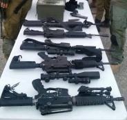 ضبط أسلحة في نابلس