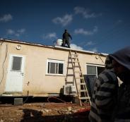 كرفانات للمستوطنين في بيت لحم