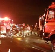 مصرع جنديان اسرائيليان واصابة 6 آخرين بجراح حرجة بحادث سير قرب طولكرم