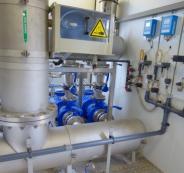محطة تحلية للمياه في معبر رفح