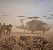 مناورات للجيش الاسرائيلي