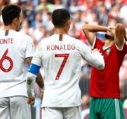 المغرب ولبرتغال في كأس العالم