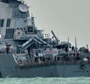 ايران تعلن فقدان 32 من مواطنيها باصطدام ناقلة نفط بسفينة شحن صينية
