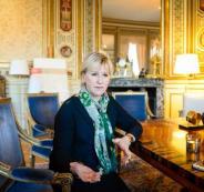 وزيرة خارجية السويد والتحرش