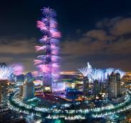 الغاء الالعاب النارية في دبي
