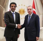 اردوغان يستقبل أمير دولة قطر