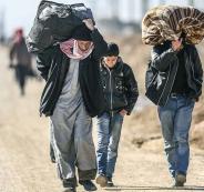 اللاجئيين السوريين يعودون الى بلدهم
