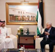 الرئيس يبحث قرار ترامب بشأن القدس مع وزير الخارجية القطري