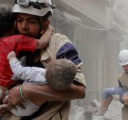 استنشهاد اطفال في الحرب السورية