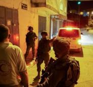 إصابة مسعف واعتقال شقيقه خلال مواجهات في مخيم الدهيشة