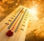 ارتفاع درجات الحرارة في فلسطين
