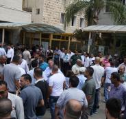اغلاق مستشفى الوكالة في قلقيلية