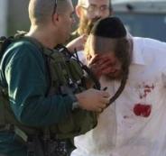 تعرض مستوطنين للضرب في القدس