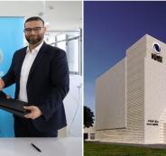 مركز البيانات لشركة الاتصالات