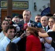 صلاة العيد في اسطنبول