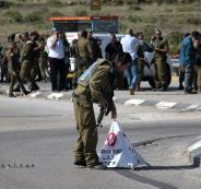 حاجز اسرائيلي في جنين