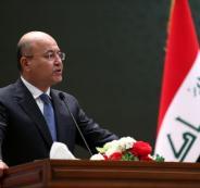 الرئيس العراقي يزور قطر