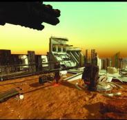 مدينة اماراتية في المريخ