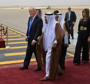 ترامب يصل السعودية